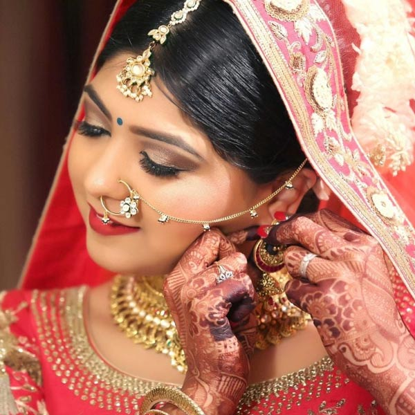 Bridal Makeover in Delhi